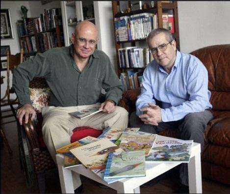 Antonio Orlando Rodríguez y Sergio Andricaín, Fundación Cuatrogatos, Miami, Estados Unidos.