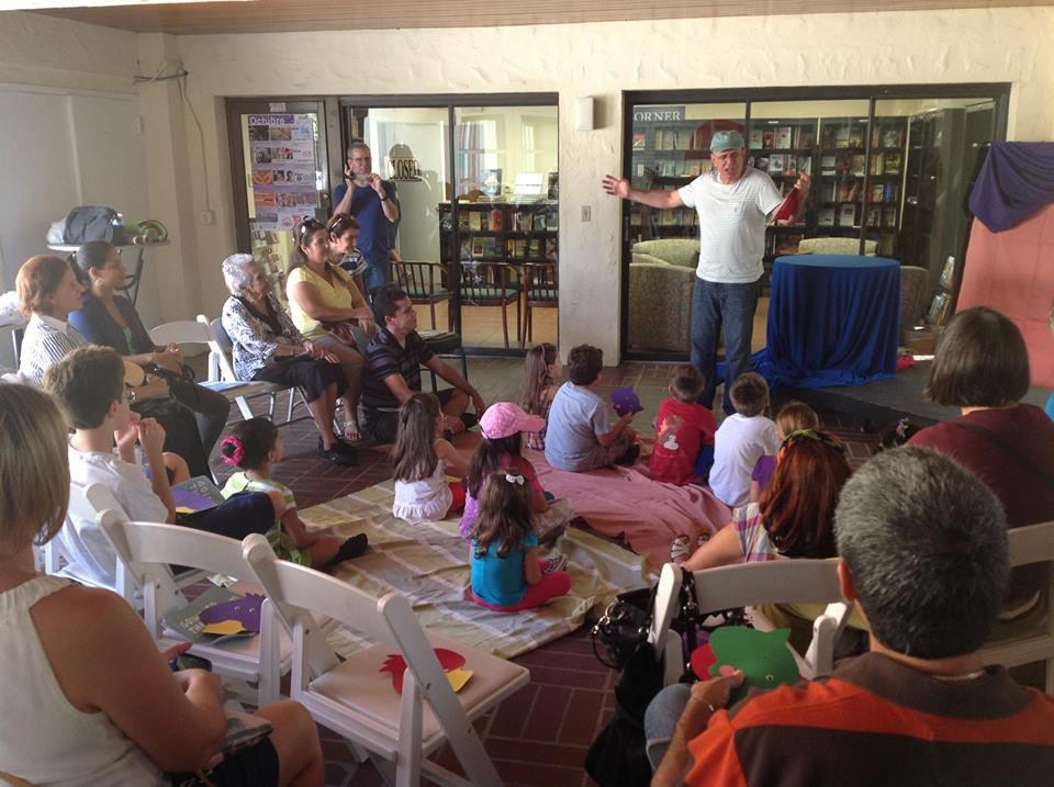 Fiesta de la lectura 2013 Fundacion Cuatrogatos Cortesia Leandro Peraza
