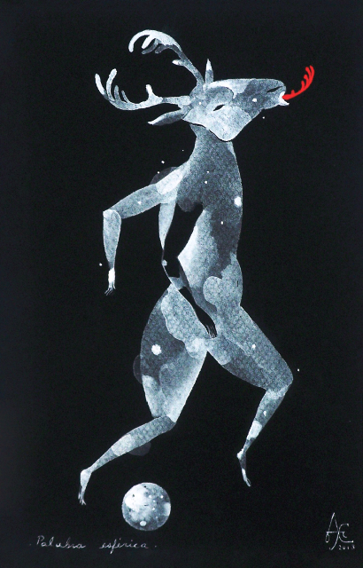 """""""Palabra infinita"""" (2013), obra de Alexis Lago."""