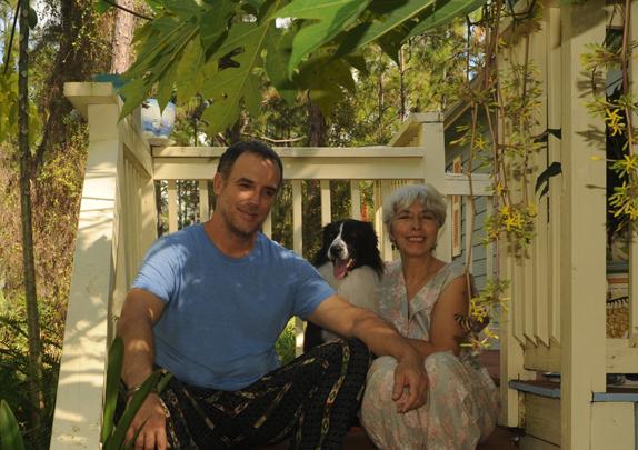 Alexis Lago, Maria Sanchez y Haiku. Fundacion Cuatrogatos.