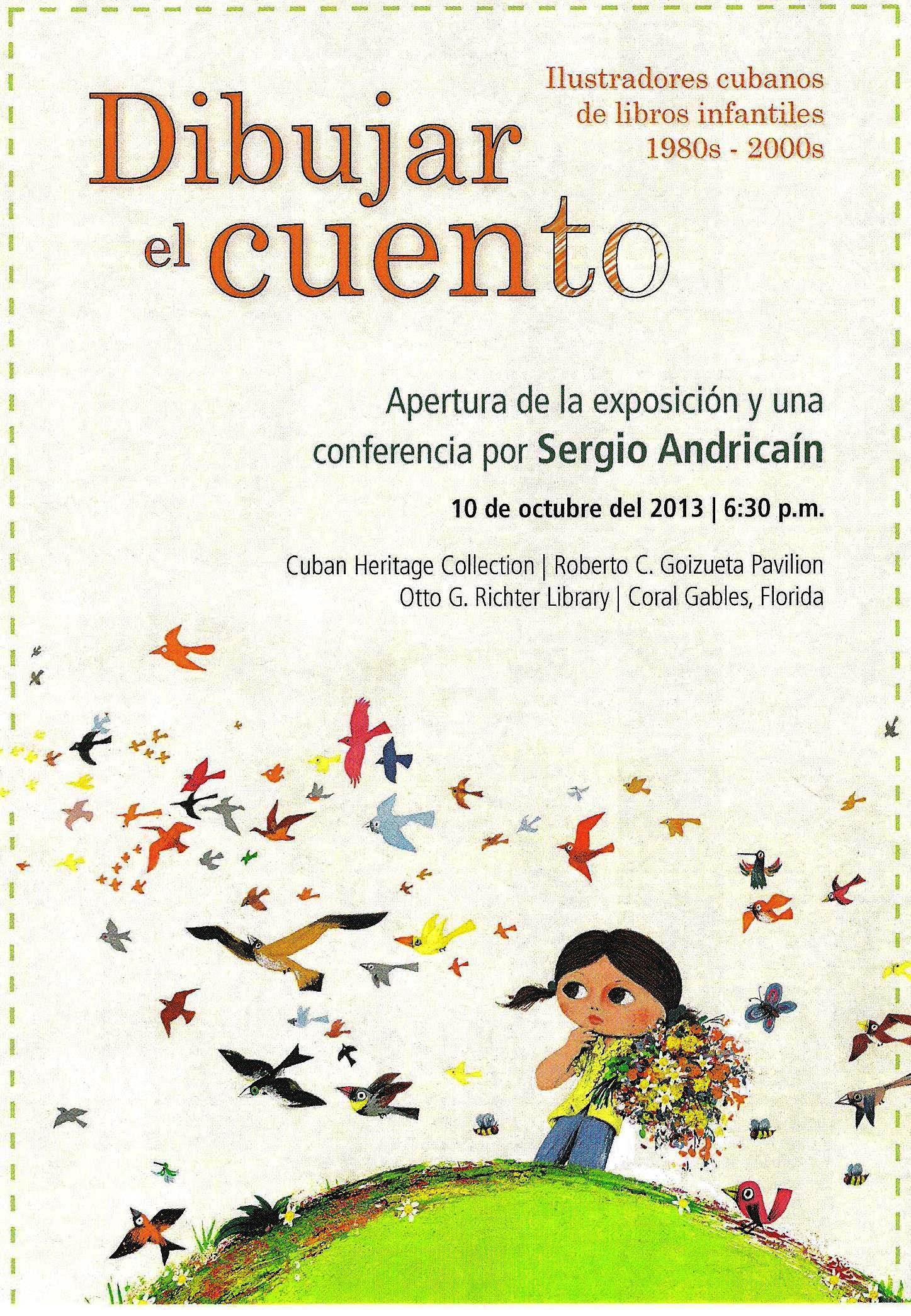 Dibujar el cuento Fiesta de la lectura Fundacion Cuatrogatos 2013