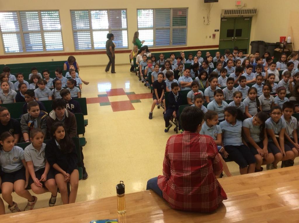 Chely Lima Fiesta de la Lectura 2014 Fundacion Cuatrogatos