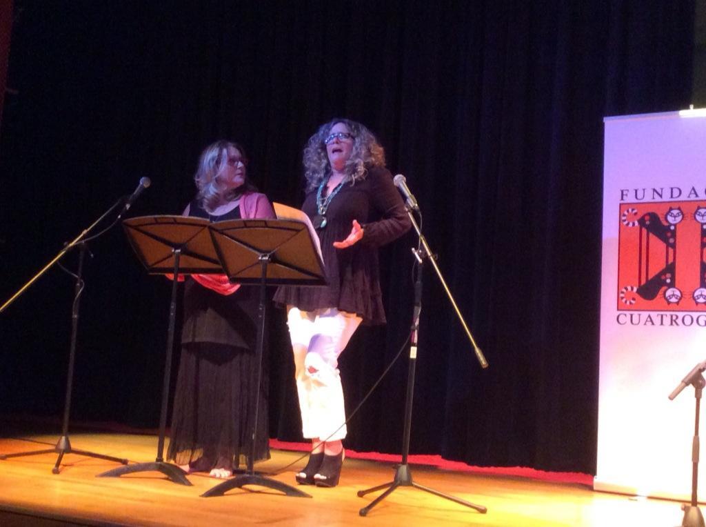Lili Renteria Mabel Roch Fiesta de la Lectura 2014 Fundacion Cuatrogatos