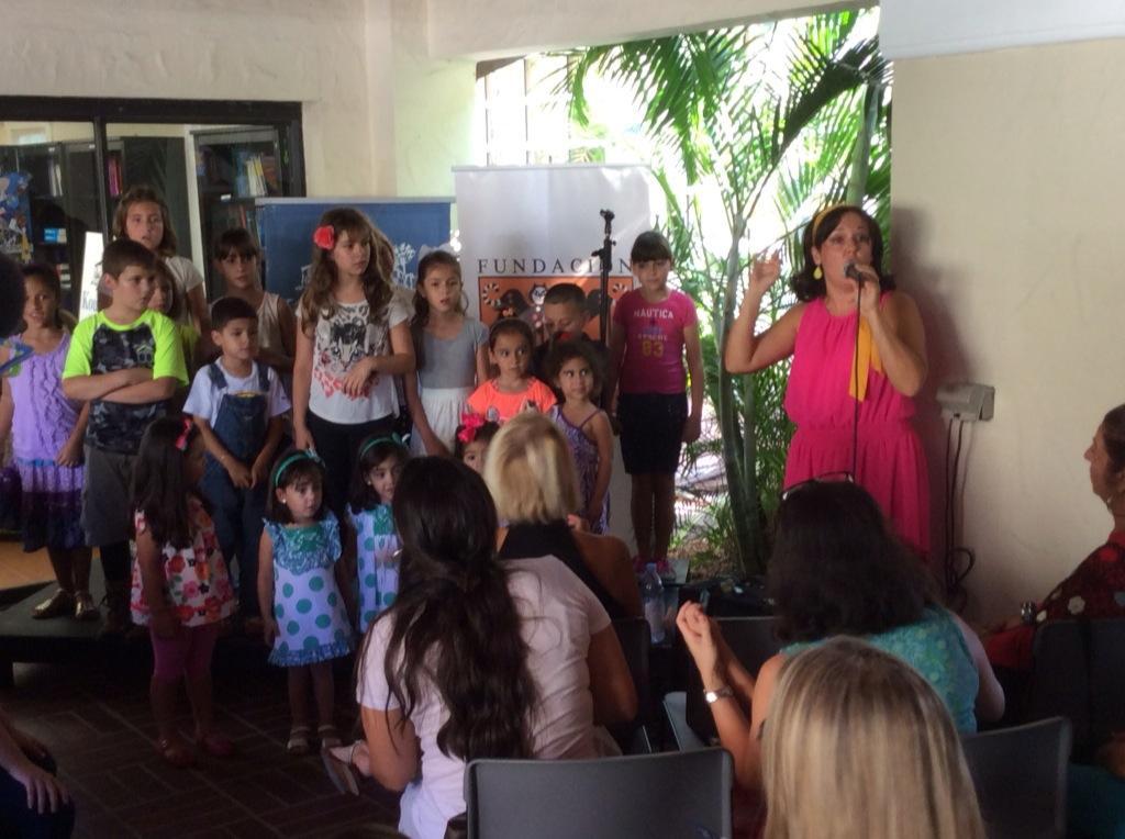 Rita Rosa Fiesta de la Lectura 2014 Fundacion Cuatrogatos