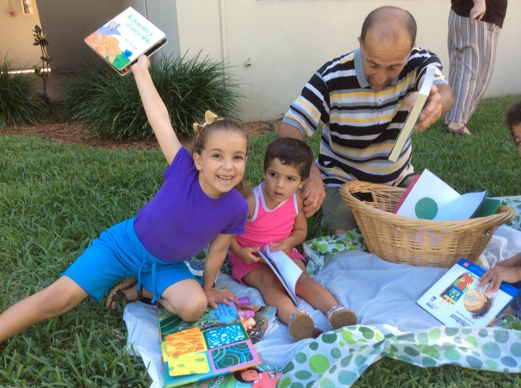 Fiesta de la Lectura 2014 Fundacion Cuatrogatos