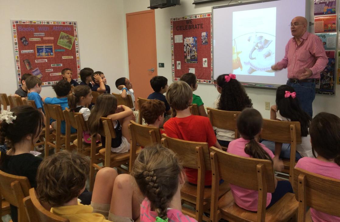Antonio Orlando Rodriguez Fiesta de la Lectura 2014 Fundacion Cuatrogatos