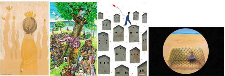 Postales Tris Tras 2014 Fundacion Cuatrogatos