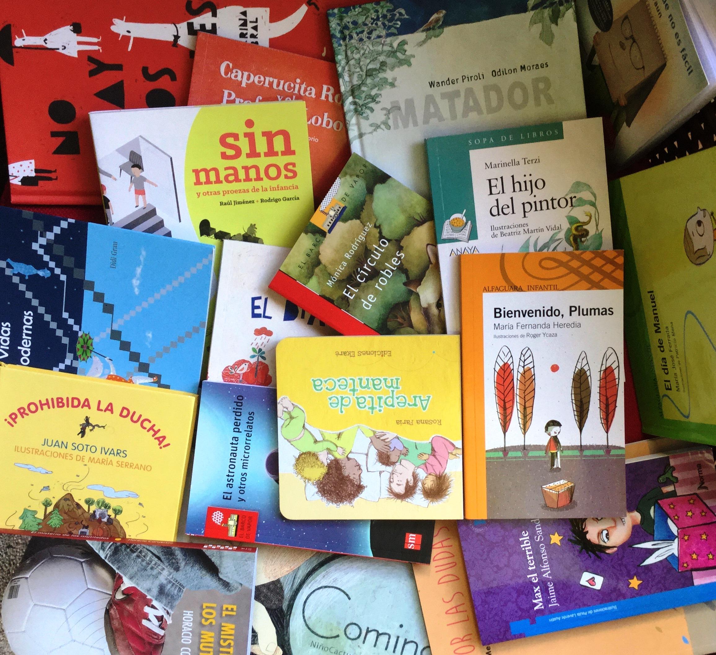 libros para ninos y jovenes