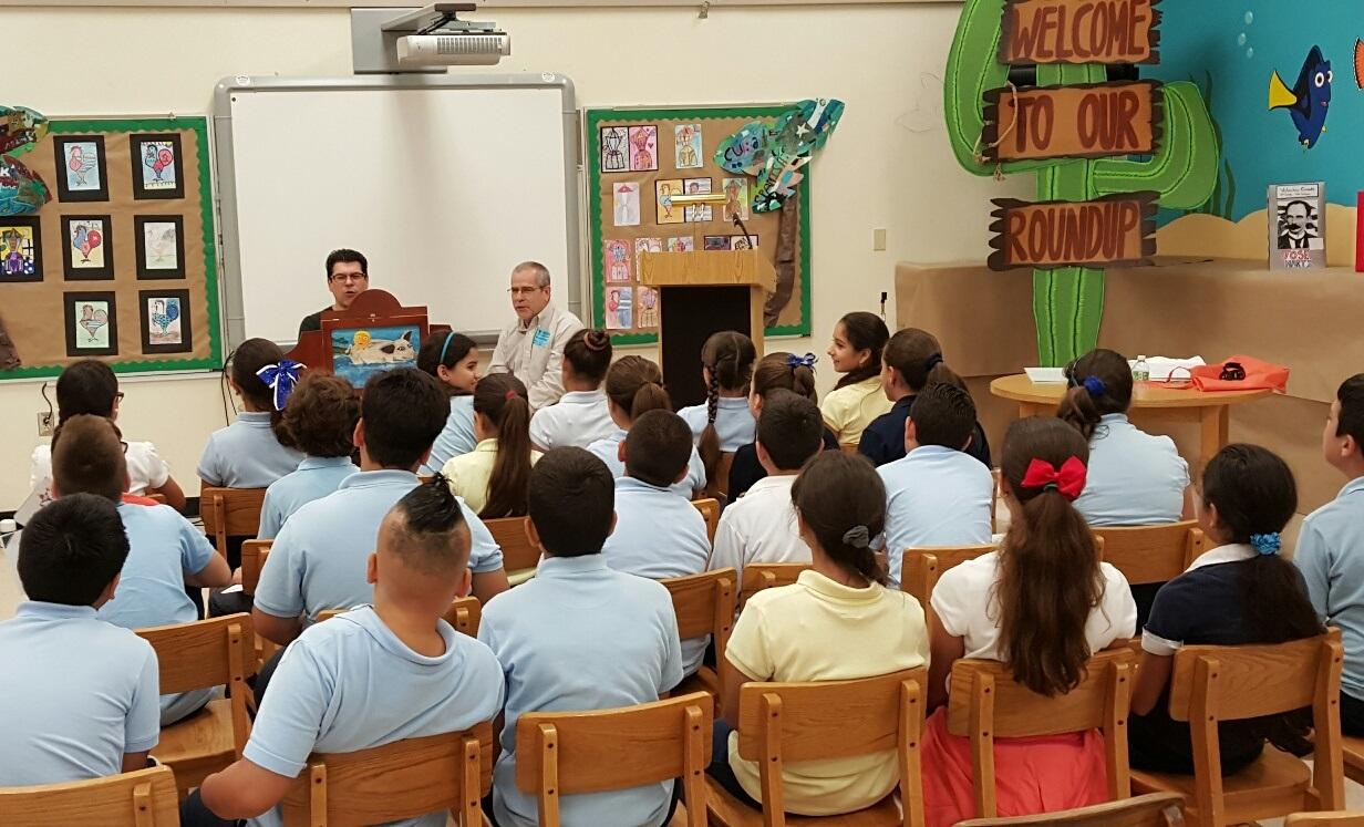 Fiesta de la Lectura 2015 Fundacion Cuatrogatos