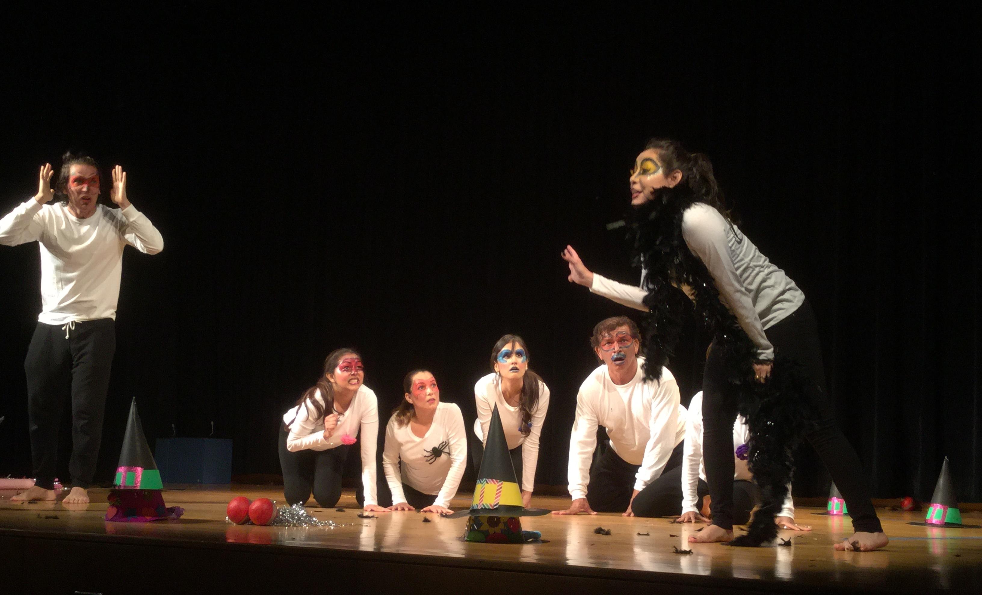 Teatro Prometeo Fiesta de la Lectura 2015 Fundacion Cuatrogatos
