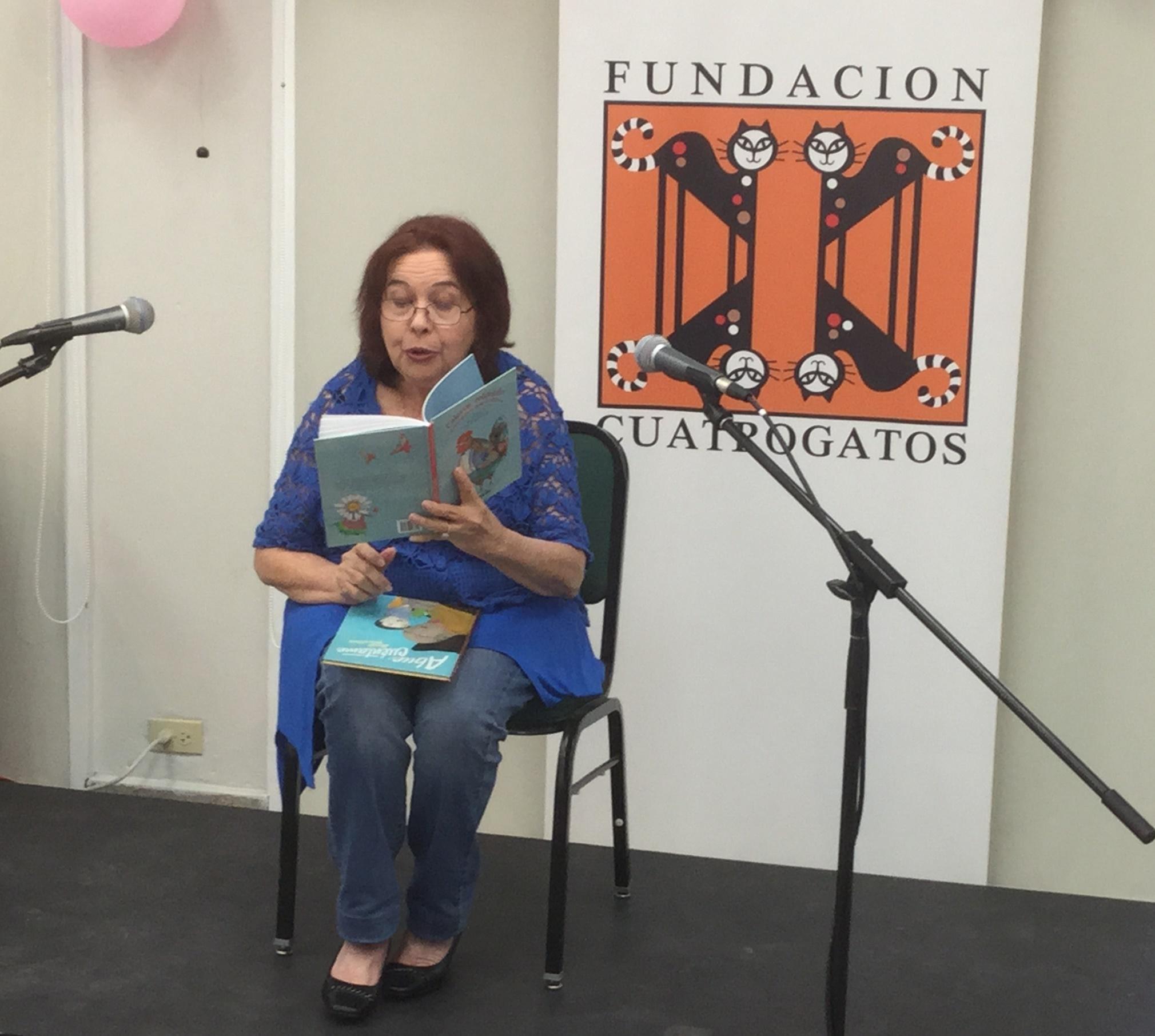 Daisy Fontao Fiesta de la Lectura 2015 Fundacion Cuatrogatos