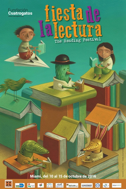 Fiesta de la lectura 2016 Fundacion Cuatrogatos