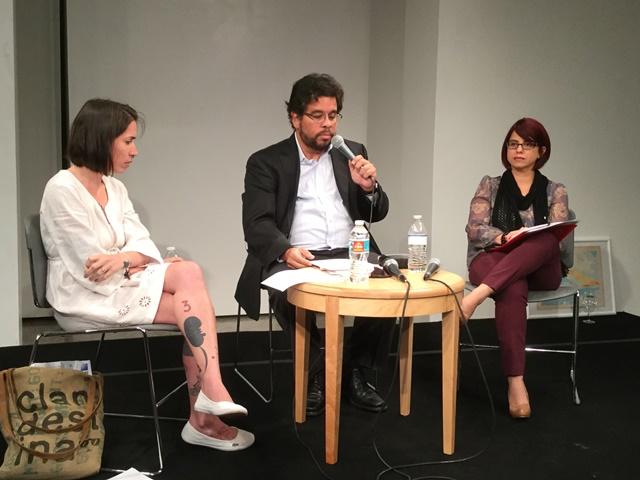 Lega Rodriguez, Yosie Crespo y Francisco Larios Fiesta de la Lectura 2016