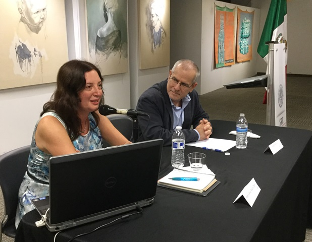 Martha Riva Palacio y Sergio Andricain Fiesta de la Lectura 2016