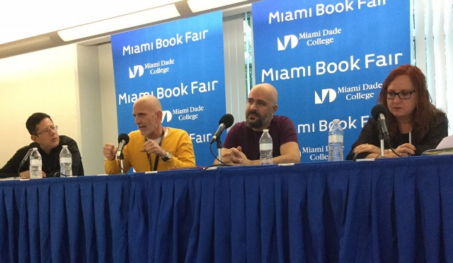 Seminario LIJU Cuatrogatos Miami Book Fair 2016