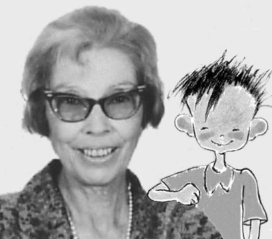 Marcela Paz y su Papelucho.