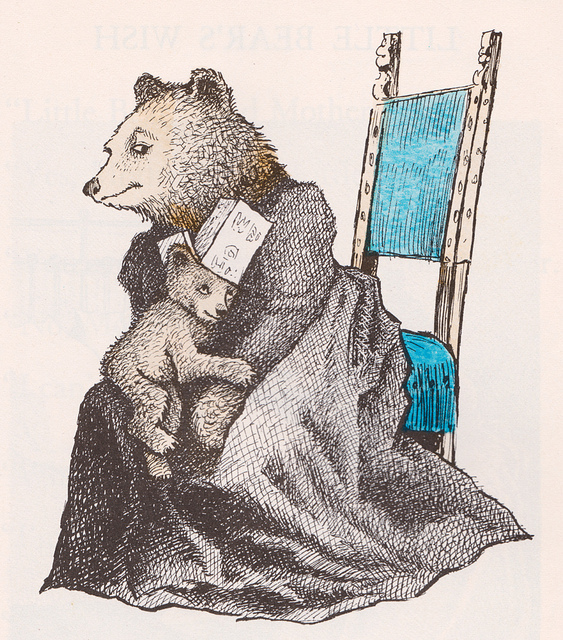 Ilustración de Maurice Sendak.